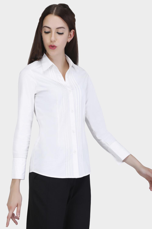Pin Tuck Shirt -1