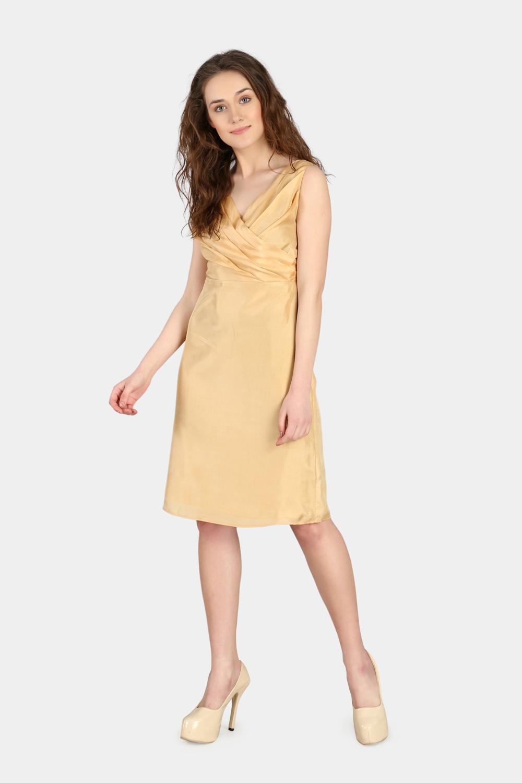 Pleated Evening Dress -2