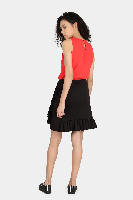 Ruffle Skirt -0