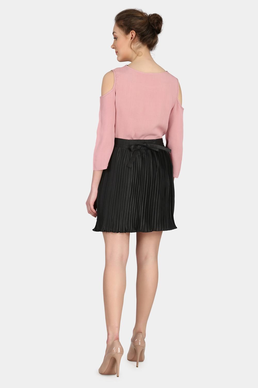 Pleated Skirt -0