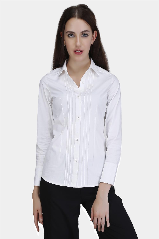 Pin Tuck Shirt -2