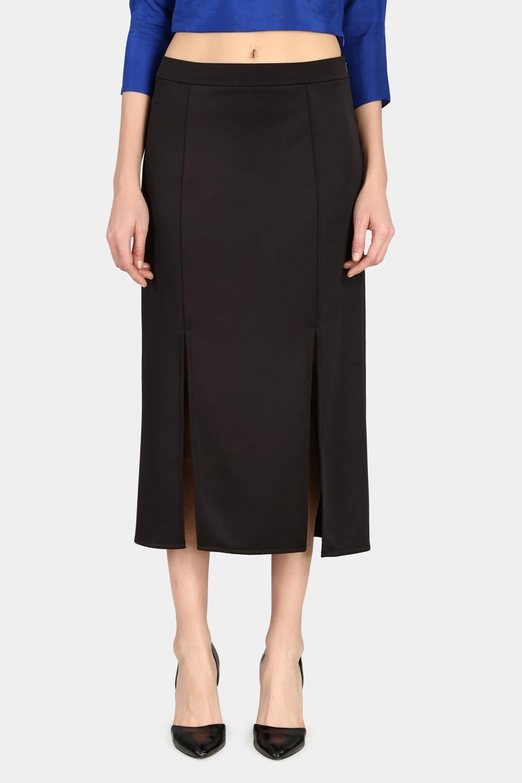 Double Slit Skirt -0