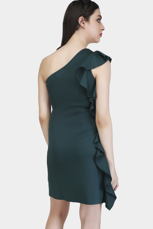 Bodycon Ruffle Dress -1