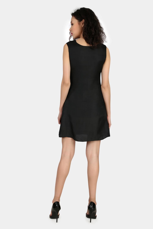 Cowl Party Wear Dress -2