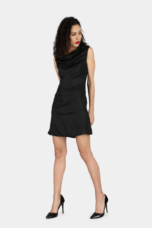 Cowl Party Wear Dress -1