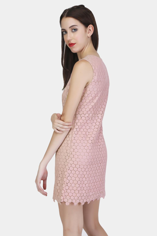 Circular Lace Dress -0