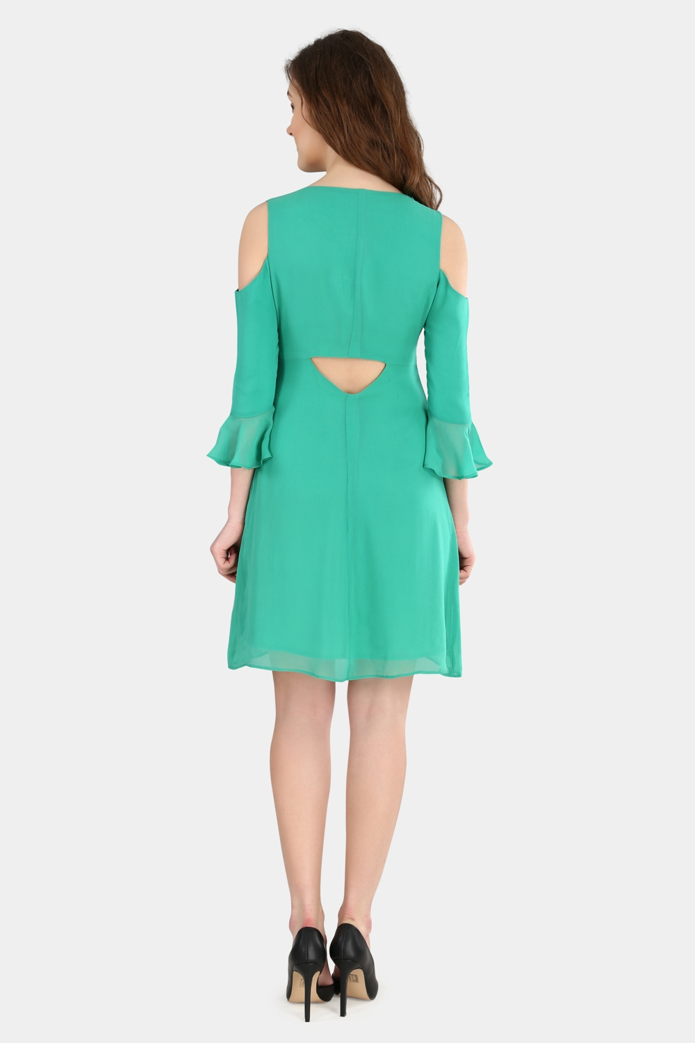Cold Shoulder Dress -1