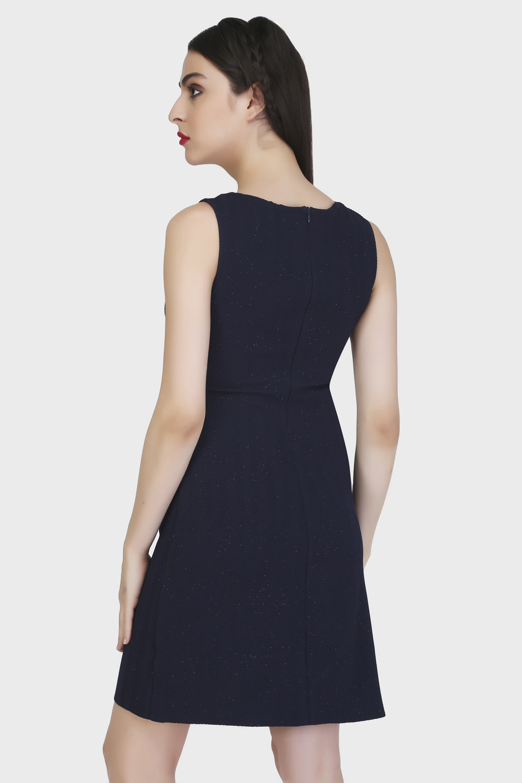 Panel Sheath Dress -2