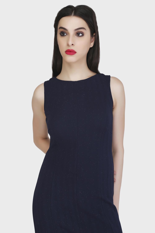 Panel Sheath Dress -0