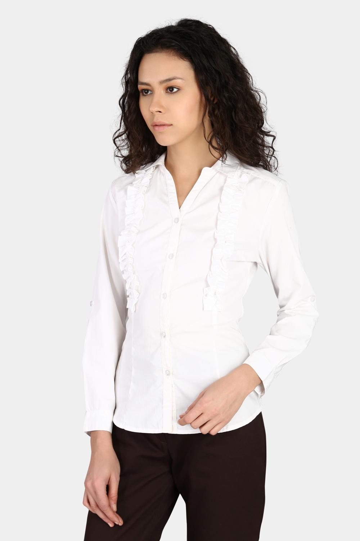 Ruffle Shirt -0