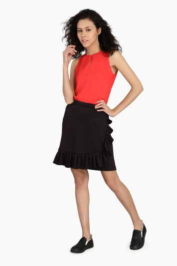 Ruffle Skirt - Front