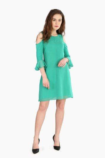 Cold Shoulder Dress - Front