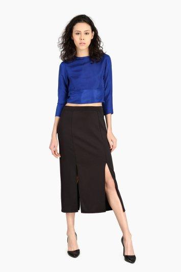 Double Slit Skirt - Front