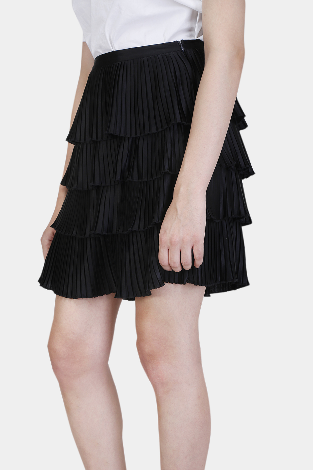 Multi Layered Pleated skirt - Back