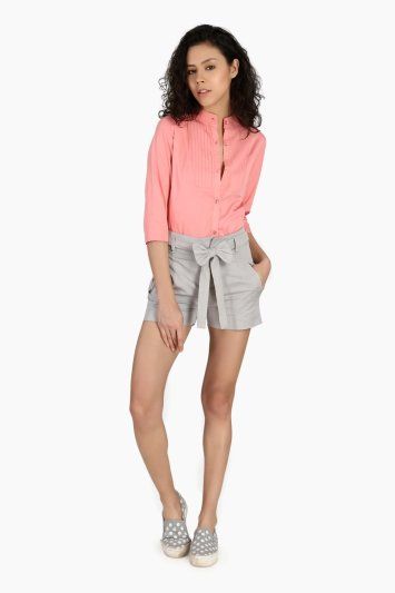 Shorts With Bow - Front