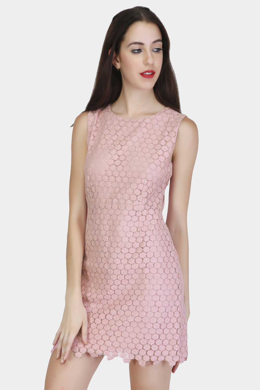 Circular Lace Dress - Main