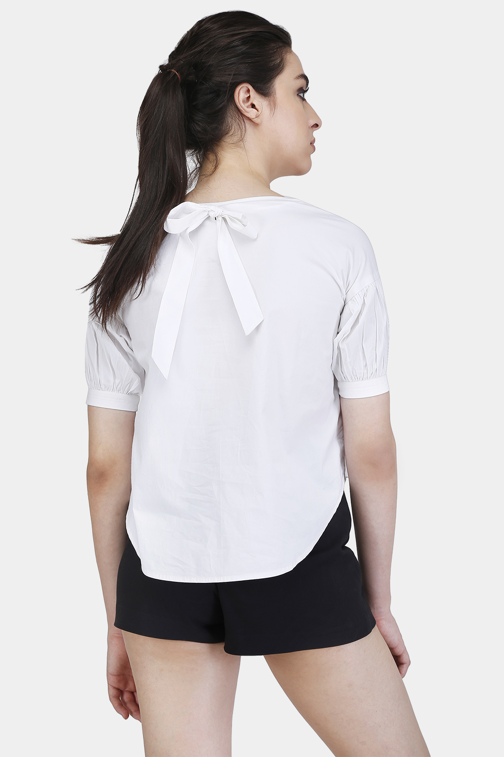 Drop Shoulder Top - Back