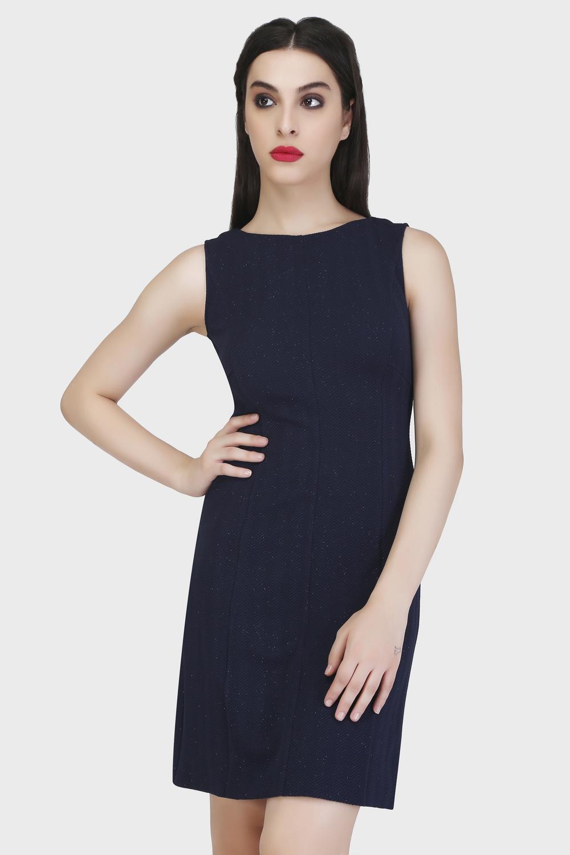 Panel Sheath Dress
