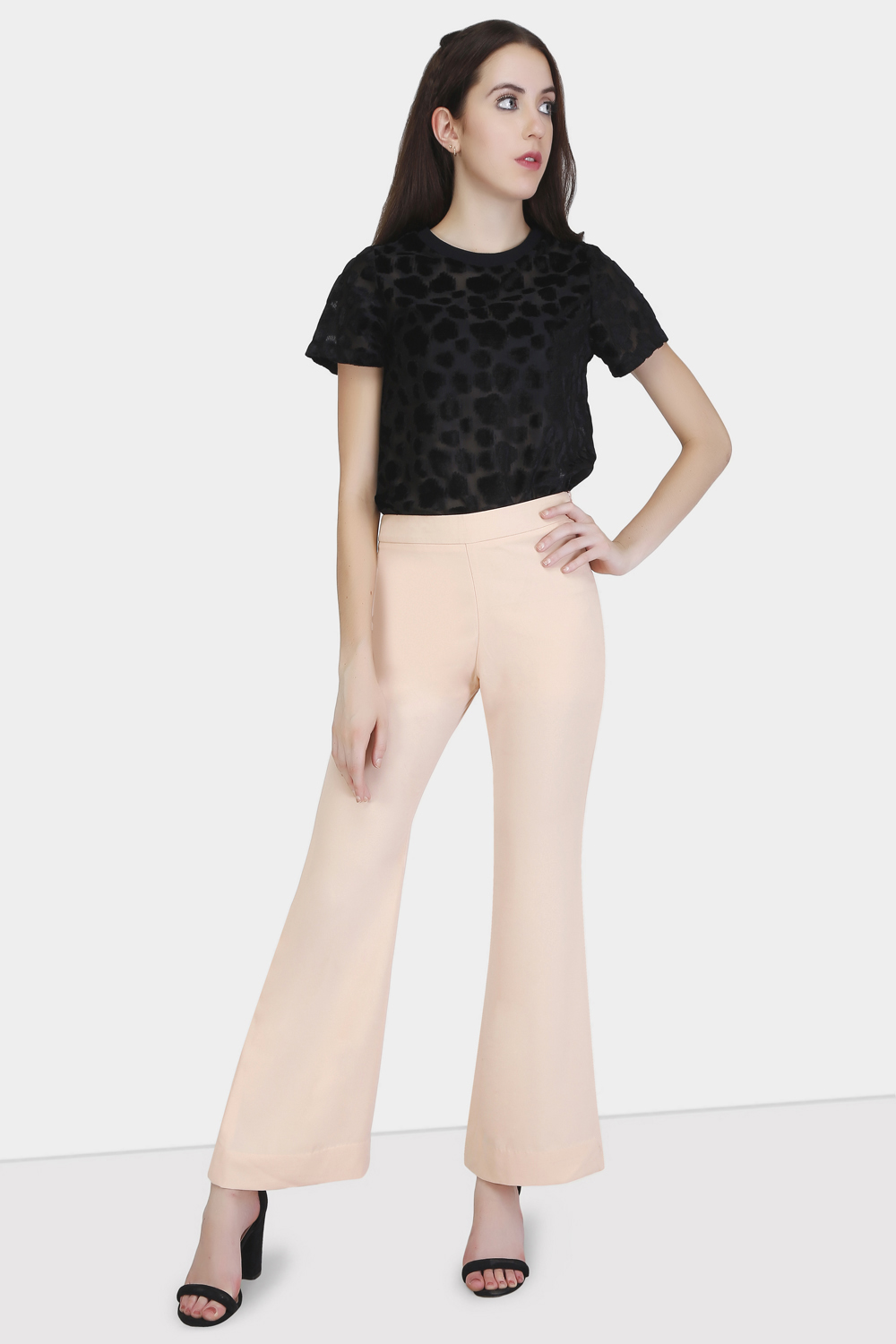 Flared Trousers - Front