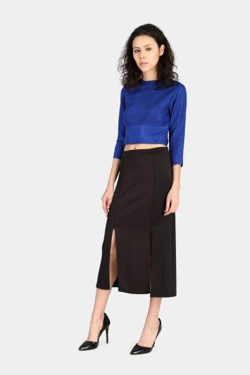 Double Slit Skirt - Back